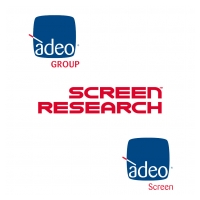 Adeo Screen - Adeo Group - Screen Research Logo