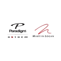 Paradigm, Anthem, MartinLogan Logo