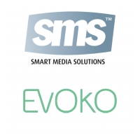 Evoko Unlimited AB & SMS Smart Media Solutions AB Logo