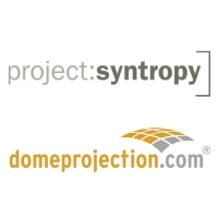 domeprojection.com / project: syntropy Logo