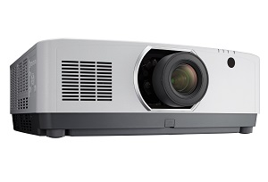NEC PA803UL and PA653UL filter-free LCD laser-based projectors on show at ISE