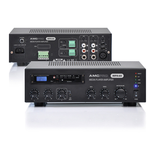 MPA60 mixing amplifier for easy integration into background music system