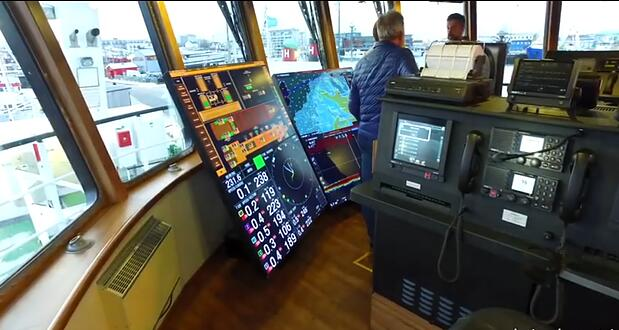 Iceland's fishing vessel powered by AVCIT IP Based system