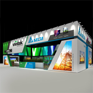 Achieve More Together at ISE 2018 with Vivitek and Delta Display Solutions Combining Forces