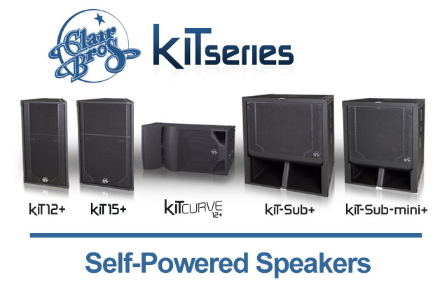 Clair Brothers Self-Powered kiT+ Series