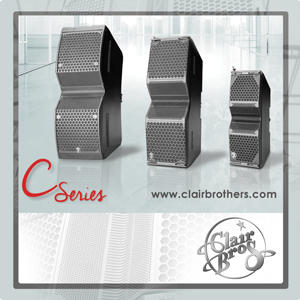 Clair Brothers C12 and C8 Line Arrays