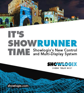 SHOWLOGIX Will Introduce SHOWRUNNER System at ISE 2018