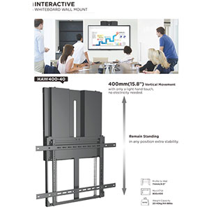 Quality White Board Mounting Solutions Protect Your Investment.