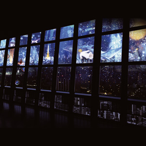 New, highly transparent glass and window projection screen INVISCREEN® by Gerriets