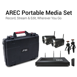 AREC Showcases Complete Media Capture Solutions at ISE 2018