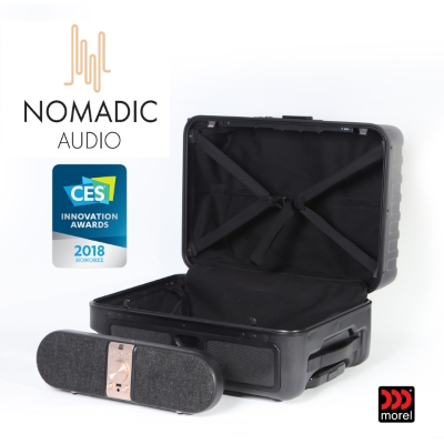 Don't miss! Listen to how NOMADIC AUDIO SPEAKASE Packs Hi-Fi Quality Sound into a trolley